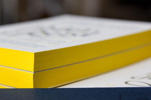 Yellow Edge Painting