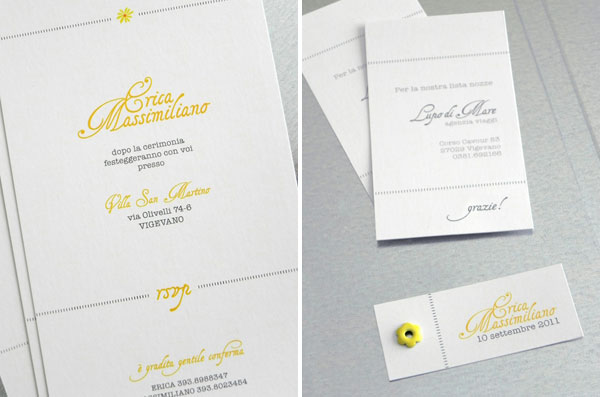 Yellow and Black Wedding Suite