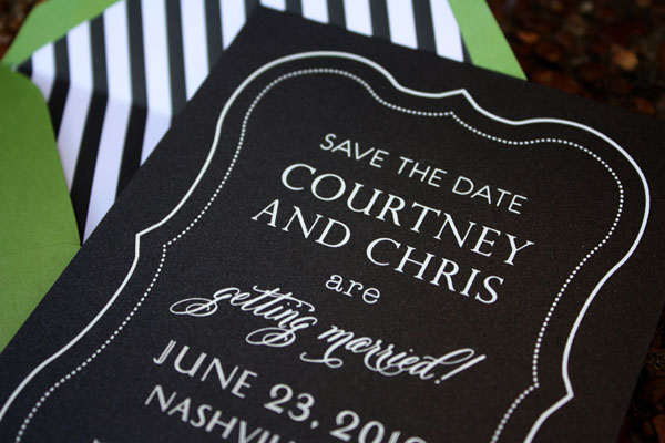 Custom Save the Date Design
