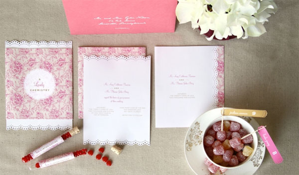 Custom Wedding Invitations by Anticipate