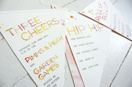 Bird & Banner Custom Wedding Invitations