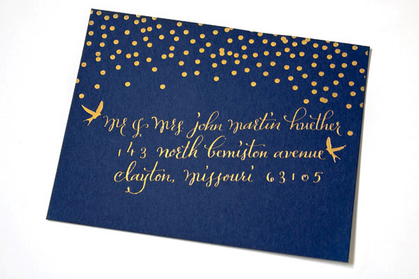 Plurabelle Calligraphy Wedding