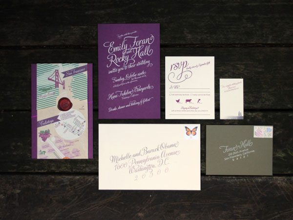 Wine Harvest Wedding Invitations
