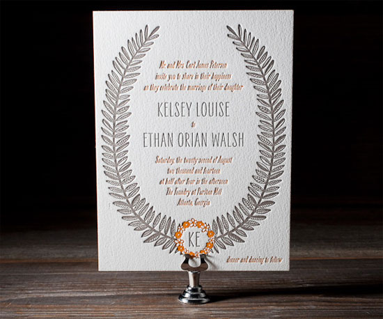Rustic Jolene Wedding Invitations
