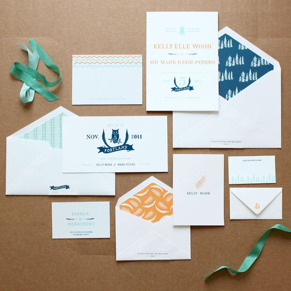 Woodlands Wedding Invitation Suite