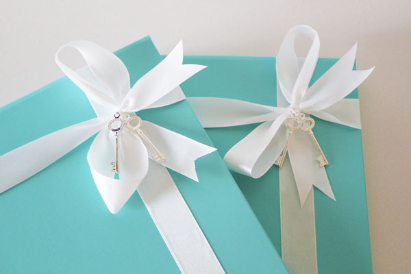 Unique Tiffany Blue Keepsake Wedding Invitations