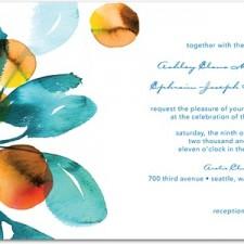 Dream In Color Wedding Invitations