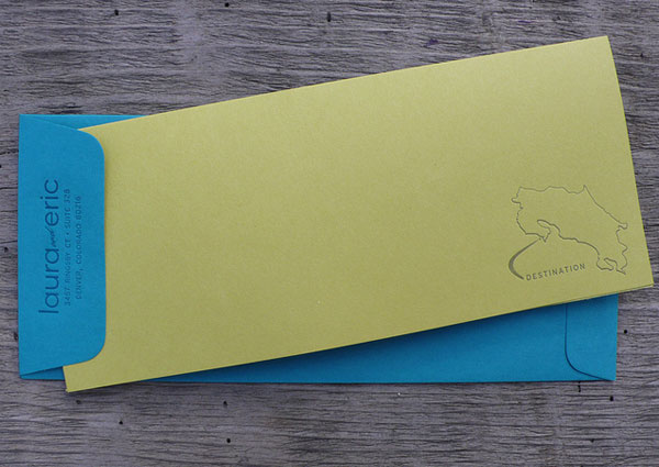 Custom Invitation Envelopes
