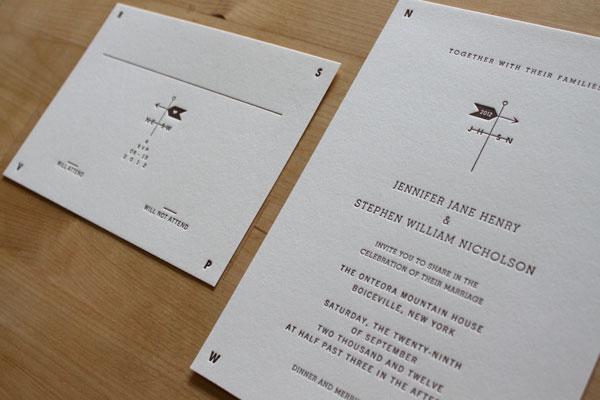 Weathervane Wedding Invitations