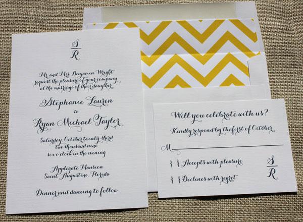 Blush Paperie Wedding Invitations