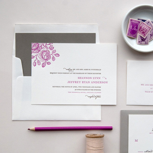 Garden Wedding Invitations