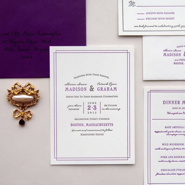 Frame Wedding Invitations