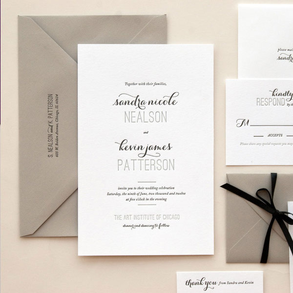 Affair Wedding Invitations