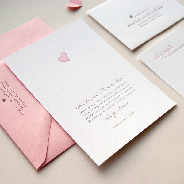 Sweetheart Wedding Invitations
