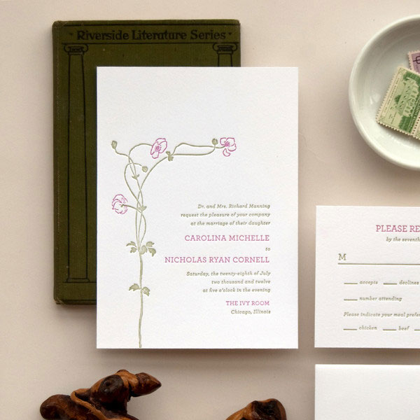 Flora Wedding Invitations