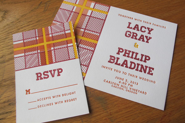 Custom Wedding Invites Type A Press