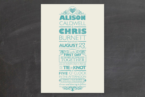 classically modern wedding invitations - Modern Wedding Invitations