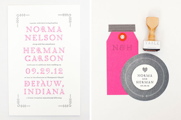 MaeMae Paperie Wedding Invitations