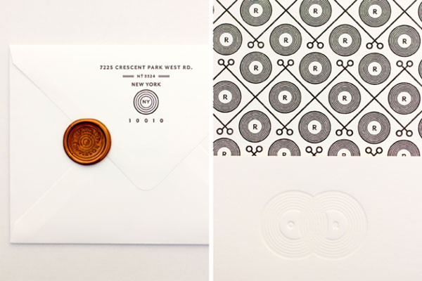 Patterned Wedding Envelope Liners