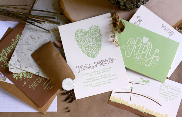 Whimsical Wedding Invites