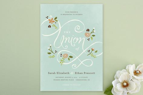 A More Perfect Union Wedding Invitations