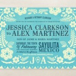Papel Picado Wedding Invitations