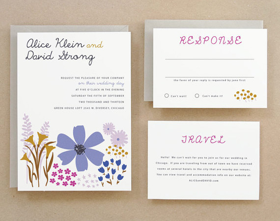 Alice Wedding Invitations