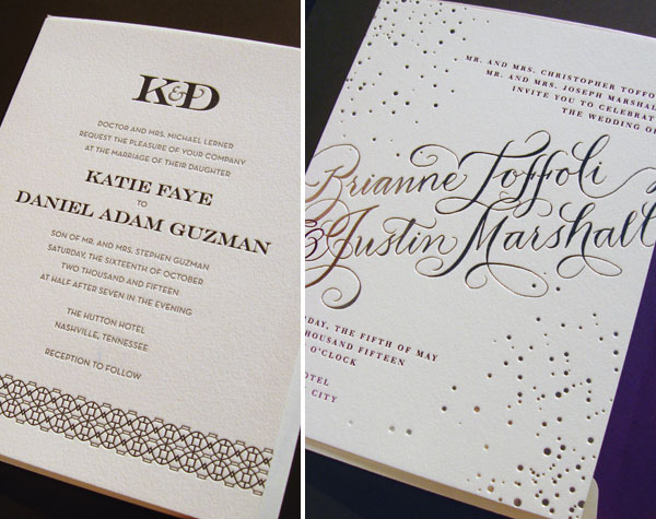 Bella Figura Modern Wedding Invites