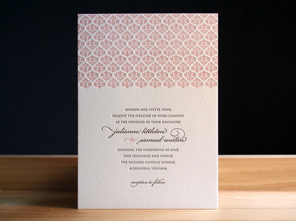 Pinkney Wedding Invitations
