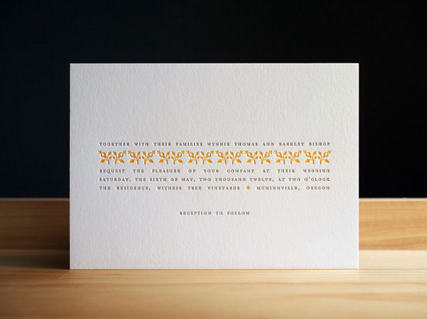 Parsnip Wedding Invitations