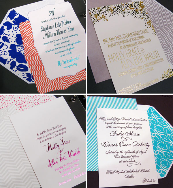 Smock Custom Wedding Invites