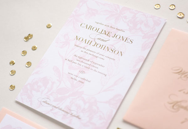 Catalina Wedding Invitation