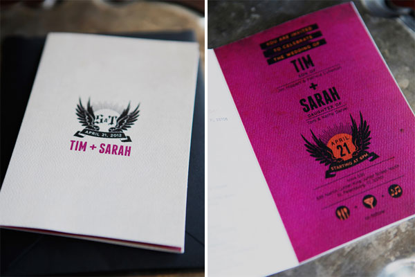 Rock 'n' Roll Wedding Invitations