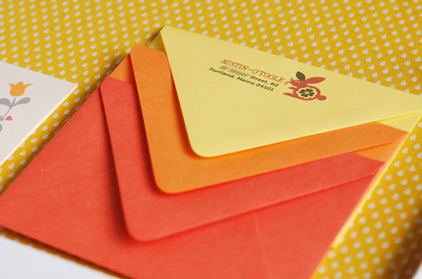 Sunny Folksy Envelopes