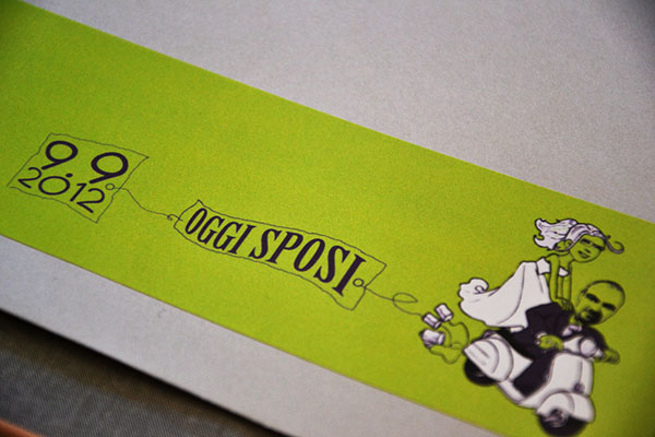 Custom Illustration Envelope Label