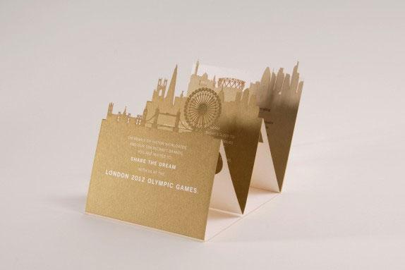 Hilton Worldwide VIP London Olympics Invitation