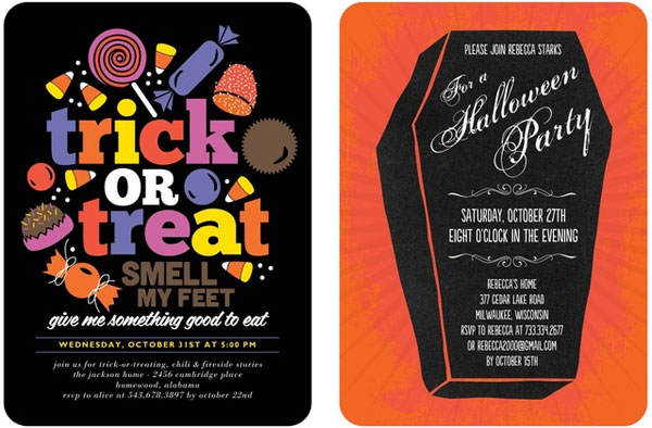 Fun Halloween Party Invitations