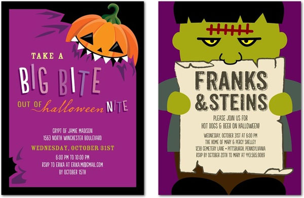 Fun Halloween Party Invites