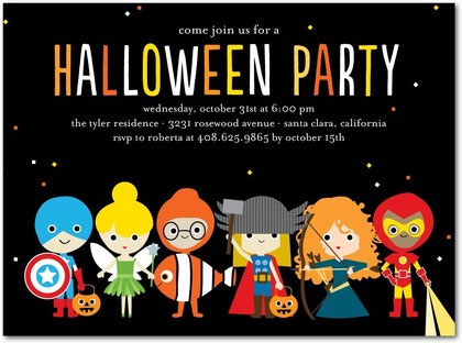 Halloween Party Invite Ideas Invitation Crush