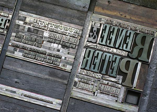 how to make metal letterpress plates