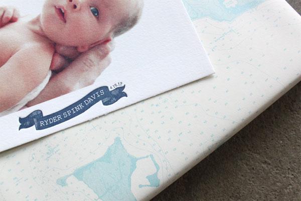 nautical birth announcements