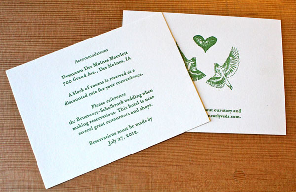 Ash & Jason's Iowa Country Wedding Invitations