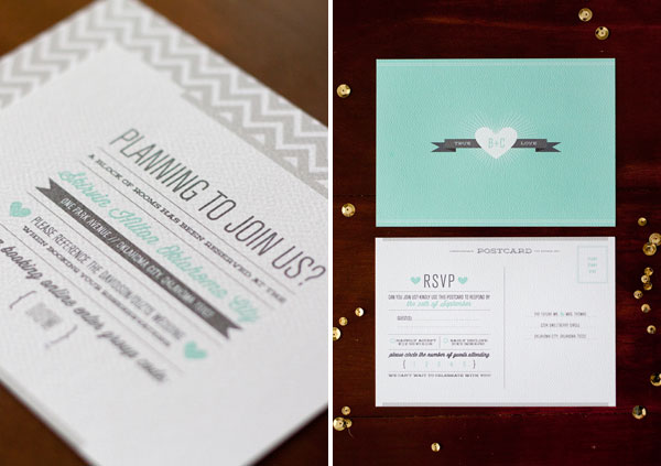 Renee Nicole Wedding Invitation Design