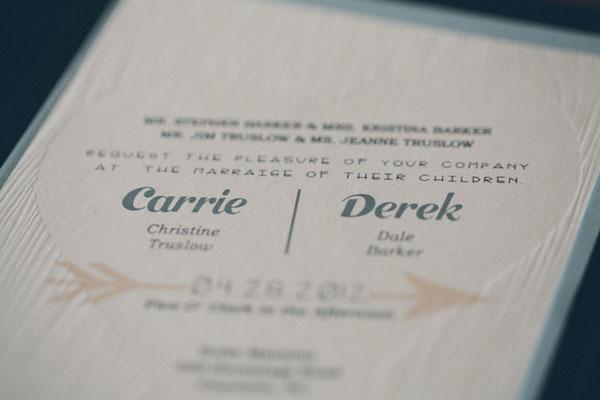 Sweet Woodgrain Wedding Invitations