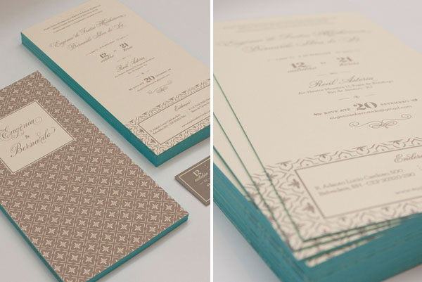 Elegant Moroccan Inspired Wedding Invites