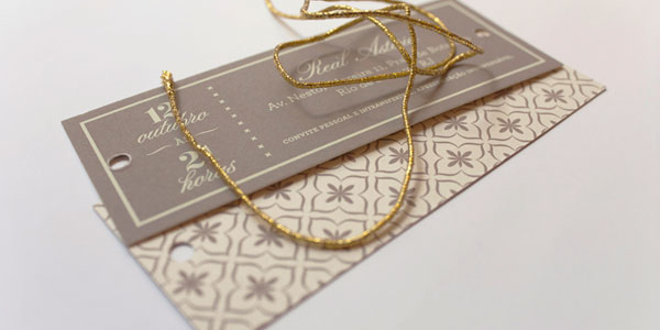 Mini Wedding Invitations