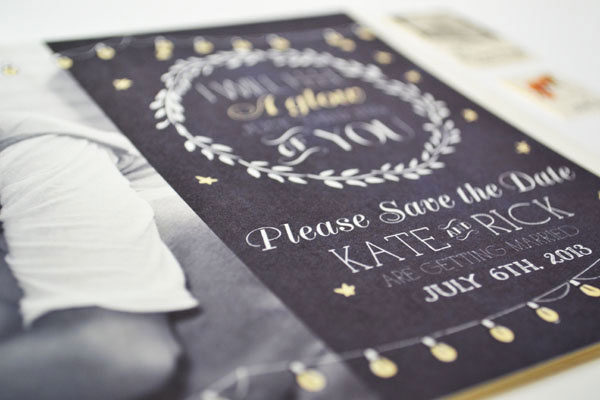 Photo Save the Date Cards by The First Snow