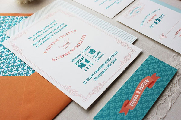 Papela Wedding Invitations