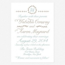 Back to Nature Wedding Invitations