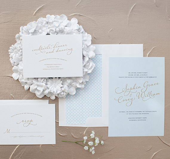Delightful Wedding Invitations | Blush Design Boutique